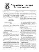 Službeni glasnik opštine Bijeljina broj 24