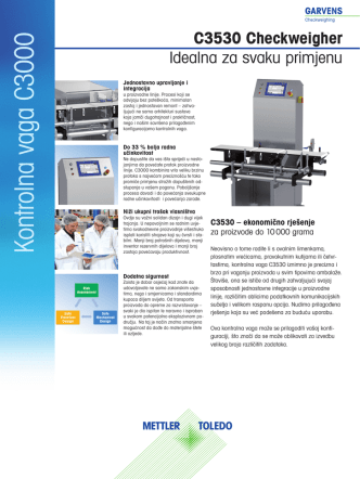 C3530-checkweigher