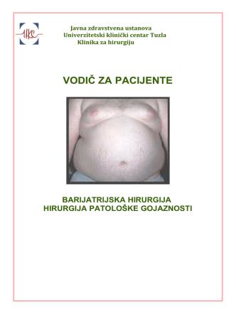 3.Barijatrijska hirurgija