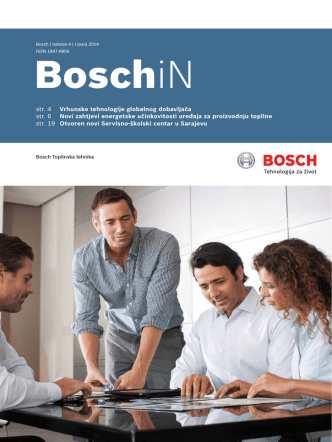 Bosch IN 04 - Bosch toplinska tehnika