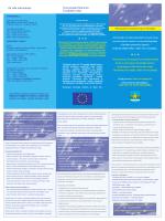 Ovaj projekt financira Europska unija Za više informacija: