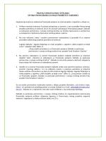 Pravila označavanja i isticanja izvora financiranja