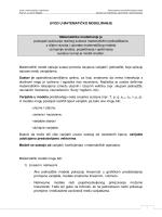 Uvod u matematicko modeliranje.pdf - Prehrambeno