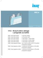 W62 Knauf zidne obloge i pregrade za šahte