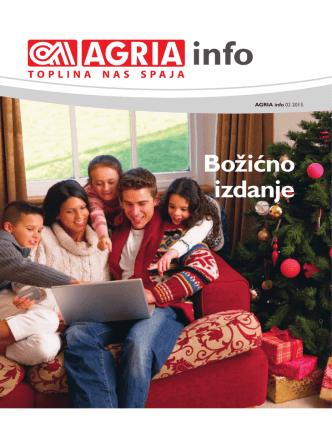 božićno izdanje - agria info prosinac 2013.