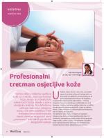 Profesionalni tretman osjetljive kože