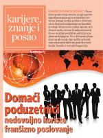 karijere, znanje i posao - centar za franšizu centra za poduzetništvo