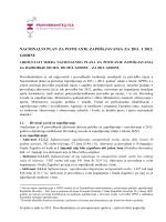 nacionalni plan za poticanje zapošljavanja za 2011. i 2012. godinu