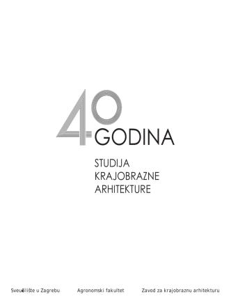 40. godina studija krajobrazne arhitekture_brosura_pdf