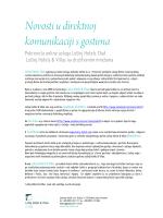 Novosti u direktnoj komunikaciji s gostima (.pdf)
