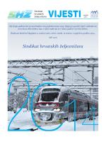 Vijesti prosinac 2013. - Sindikat hrvatskih željezničara