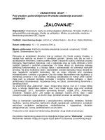 PROGRAM i PRISTUPNICA - Hrvatsko psihijatrijsko društvo