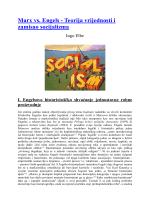 Marx vs. Engels - Teorija vrijednosti i zamisao