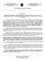 Izvještaj vlasti Bosne i Hercegovine o posjeti Evropskog Komiteta za