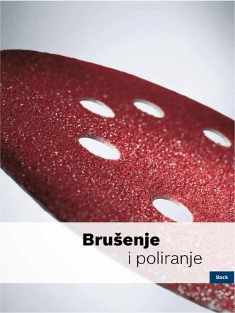 Brušenje i poliranje - Bosch električni alati