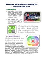 10 razloga zašto upisati ELPROS - Elektrotehnička i prometna škola