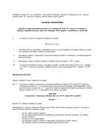 Poziv na Glavnu skupštinu ACI d.d. koja će se održati 30.10.2014.