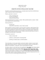 Upute… - Gimnazija Livno
