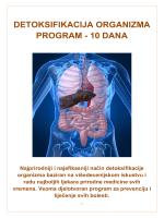 detoksifikacija organizma program - 10 dana
