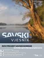 Novi projekt savske komisije za bolje upravljanje poplavama