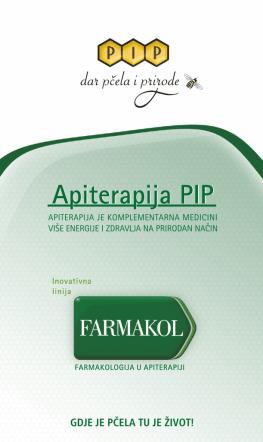 Apiterapija, letak- NOVO