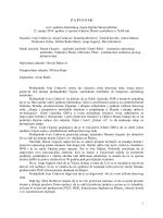 1 Z A P I S N I K sa 8. sjednice Općinskog vijeća