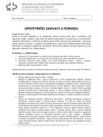 OPSTETRIČKI ZAHVATI U PORODU - Rodilište & Poliklinika Podobnik