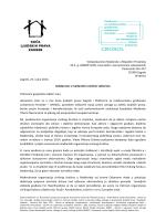 Pismo mađarskom veleposlaniku (hrvatski)