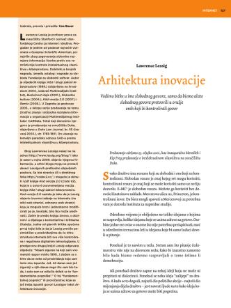 Arhitektura inovacije