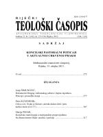 RTČ 2-2013 - Teologija u Rijeci