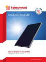 SOLARNI SUSTAVI - Tehnomont Solarna Oprema