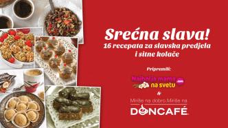 16 recepata za slavska predjela i sitne kolače