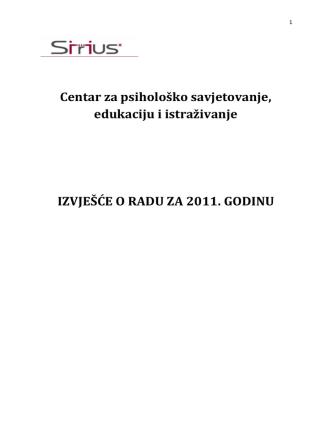 Centar za psihološko savjetovanje, edukaciju i istraživanje