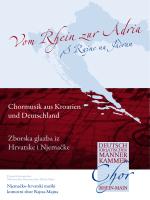 Vom Rhein zur Adria - Männer-Kammerchor Wiesbaden