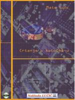 Pogledajte ogledne stranice priručnika Crtanje u AutoCAD-u