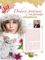 Dodaci prehrani za jačanje imuniteta