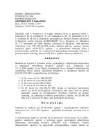 Raskid Ugovora o prenosu prava upravljanja i odlučivanja