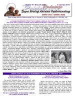 ŽUPNI LISTIĆ (br. 14/230) - Župa Svetog Antuna Padovanskog