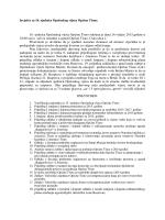 Izvješće sa 16. redovne sjednice