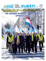 Vijesti SHŽ travanj 2014. - Sindikat hrvatskih željezničara