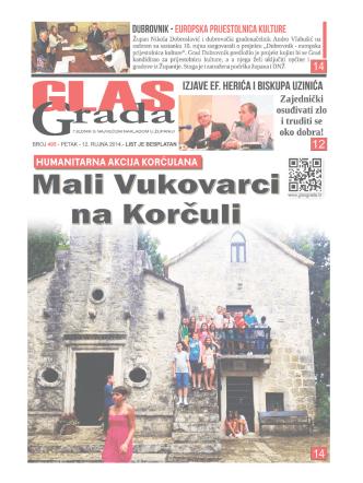 1 GlasGrada - 495 - petak 12. 9. 2014.