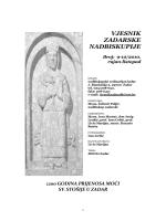 vjesnik 9-10 2010 - Vjesnici Zadarske nadbiskupije