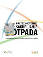 Upute za odvojeno sakupljanje otpada