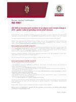 Revizija norme ISO 9001