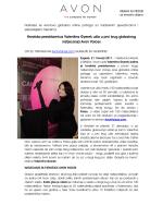Hrvatska predstavnica Valentina Gyerek ušla u prvi krug