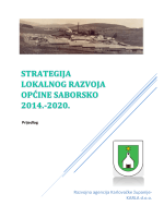 strategija lokalnog razvoja općine saborsko 2014.-2020.