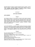 Statut - Yacht Club Biograd