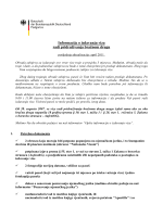 Informacije o iz radi pridruživanja Informacije o izdavanju viza adi