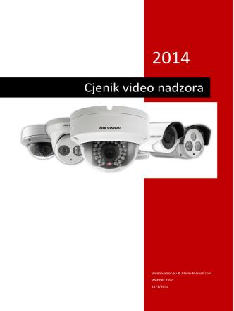 Cjenik video nadzora - Alarm