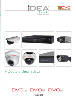 DVC – HD video nadzor